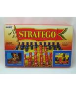 Stratego 1987 Board Game Chieftain Battlefield Strategy Complete Bilingu... - $45.25