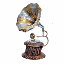 WILLART Handicraft Table Top Gramophone Showpiece Home Decor Gift - $47.51