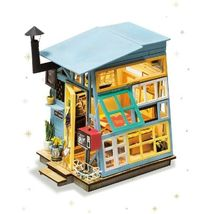 Wooden Hut Miniature Doll House Diy Model Building Kits Creative Toys Kids Gift - $69.99