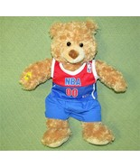 NBA Basketball Build A Bear TEDDY Record Play Voice Box Plush Stuffed An... - $18.22