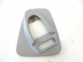 Mercedes W463 G550 G63 trim, seat belt cover, center rear, gray 4638680056 - $23.36