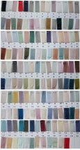 Tulle TUTU Color chart Color Swatches Women Tulle Skirt Wedding Tulle Outfits image 3