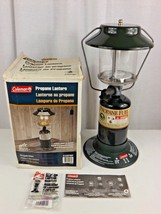 Coleman Two Mantle Propane Lantern Model 5152D700T Camping Hiking Emergency - $32.51 CAD