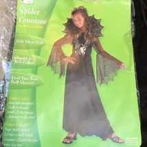 DISGUISE Girls SPIDER COUNTESS COSTUME Halloween sz 3/4 , 7/8 kids Girls  - $29.70