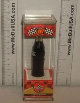 """Coke Coca-Cola McDonald's Mini Miniature 3.5"""" Soda Bottle Bobby Labonte #18 1999 image 3"""