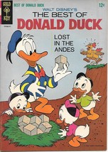 Walt Disney The Best of Donald Duck Comic Book #1 Gold Key 1965 FINE - $25.07