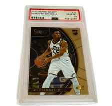 Donovan Mitchell Rookie RC Jazz 2017 PSA 10 Select 2017 sp #11 non auto GEM slab - $4,455.00