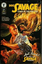 Doc Savage Comic #1 1995 SEPT-CURSE Of The Fire God Vf - $18.62