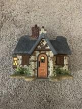 Thomas Kinkade Ceramic Cottage Candle Holder 2006 - $15.70