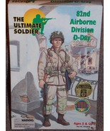 Ultimate Soldier 82nd Airborne Division D-Day WWII 12 inch Figure New In... - $39.99