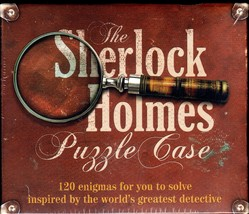 The SHERLOCK HOLMES PUZZLE CASE Game:120 Enigmas for You to Solve SEALED! image 1