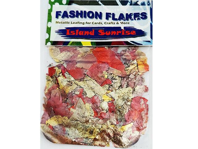 Biblical Impressions Fashion Flakes, Island Sunrise, Metallic Leafing