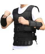 10kg/20kg/50kg Loading Weighted Vest For Boxing Training Workout Fitness - $25.73+