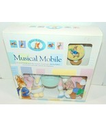 NEW 2001 VTG PETER RABBIT MUSICAL MOBILE FREE SHIP BEATRIX POTTER BABY S... - $77.35