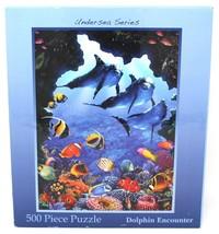 Puzzle Sottomarino Serie Delfino Encounter 500 Pezzi 45.7cm x 35.6cm Oceano - $18.55