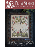 A Thousand Hills sheep cross stitch chart Plum Street Samplers  - $12.60