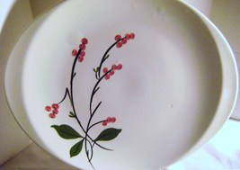 Vintage Oval Platter with Berries - $12.00