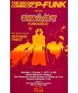 Parliament Funk - 1977 - Concert Poster - $9.99+