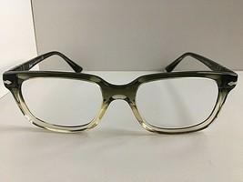 New Persol 3131-V 1038 Gray 52mm Men's Eyeglasses Frame Hand Made Italy - $134.99