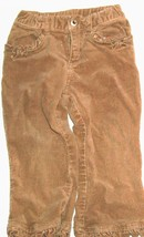 Girls Brown Detail Hem Pants Size 24 Months - $1.77