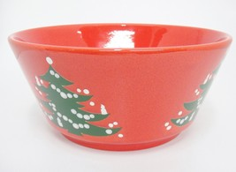 "Waechtersbach Christmas Tree 8 7/8"" Round Vegetable Serving Bowl Excellent - $24.74"