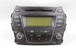 13 14 HYUNDAI SANTA FE AM/FM RADIO CD PLAYER RECEIVER OEM - $148.49
