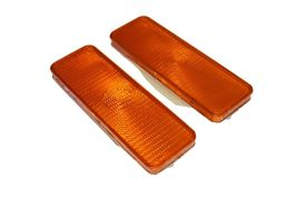 2 Front Parking Turn Signal Light Lens Ford Truck Bronco F150 F250 F350 80-86 image 3