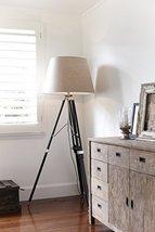 Hollywood Marine Nautical Tripod Floor Lamp, Nautical Vintage Tripod Floor Lamp - $99.00