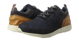 5 Top Blue 321342012510 Blue Dark 6 Mens UK Cognac Bugatti Sneakers Low HqXxt5v