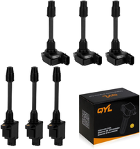 6Pcs Ignition Coil Pack Replacement for Maxima Front and Rear 3.0L V6 UF... - $119.23