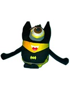MINIONS COSPLAY THE AVENGERS SUPER HERO SPIDERMAN & SUPERMAN & BATMAN & ... - $263,00 MXN