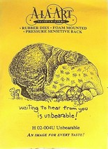 Ala Art Rubber Stamps Unbearable Rubber Stamp