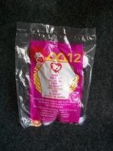 1999 McDonald's Teenie Beanie Baby Chip The Cat New - $1.35
