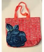 Lancome Red Striped Tote Bag - $27.72