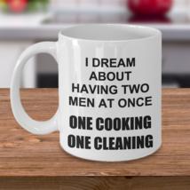 Sexy Threesome Gifts For Wife Fiance Girlfriend Funny Prank Birthday Coffee Mug - $14.84
