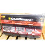 "Gearwrench 80948 76 Piece SAE/Metric & Deep Mechanics Tool Set 1/4"" & 3/... - $69.30"