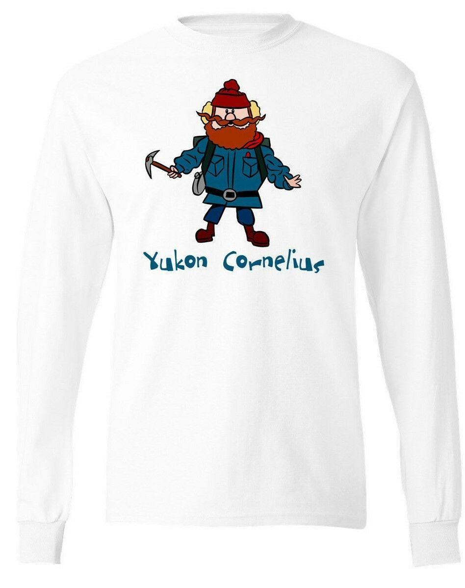 Yukon Cornelius Christmas long sleeve t-shirt Rudolph Santa Hermey the Elf