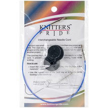 "Knitter's Pride-Interchangeable Cords 11"" (20"" w/tips)-Blue - $5.88"
