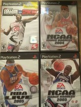 Lot of Playstation 2 PS2 Games Sports Basketball NBA NCAA - $11.40