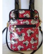 Disney Parks Minnie Mouse Tablet Case Crossbody Bag Red Purse Roses NWOT - $24.99