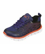 M-Air Ultra Lightweight, Kids Athletic Sneakers (3, Champion Navy) - $30.84