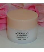 New Shiseido Benefiance Wrinkle Resist 24 Night Cream  1 oz / 30 ml - $19.99