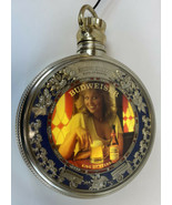 Budweiser Pocket Watch Locket Lighted Rotating Beer Sign Vintage 1970's ... - $333.33