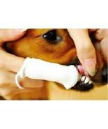 PETOSAN MICROFIBER FINGER BRUSH TEETH ORAL CAT DOG TOOTH CLEANER - $10.77
