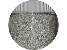 Glittered Silver Embossing Powder