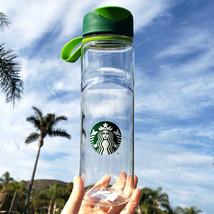 Starbucks Siren Plastic Clear Water Bottle 24 oz - $16.99