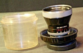 Carl Zeiss Pro-Tessar Lens f=35mm with fitted Zeiss Ikon Case AA-192030 Vintage image 2