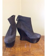 Alice + olivia by Stacey Bendet Women Brown Leather Ankle Boots EUR 36.5... - $42.95
