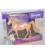 Breyer Classic 97258 Skyler Magical Unicorn Rainbow Glitter Morgan Stallion - $26.60