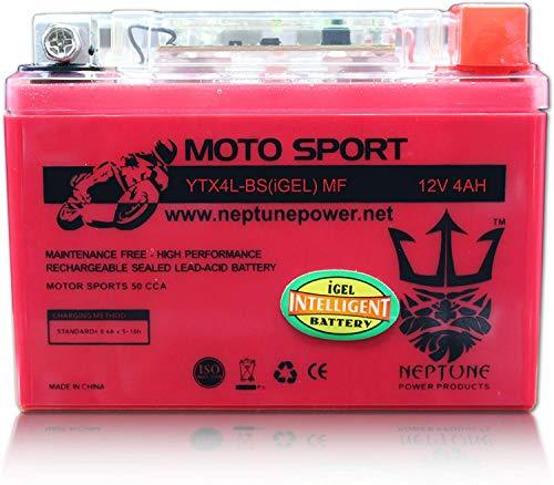 Primary image for YTX4L-BS High Performance Gel Battery for Polaris Scrambler 50 01-02 by Neptune